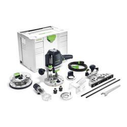 Festool Oberfräse OF 1400 EBQ-Plus + Box-OF-S 8/10x HW