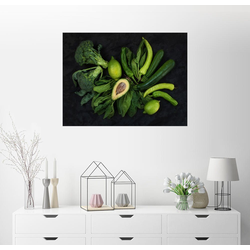 Posterlounge Wandbild, grüne Vitamine 90 cm x 70 cm