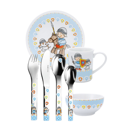 PURESIGNS Kinderbesteck ONE Miko Set 7-teilig