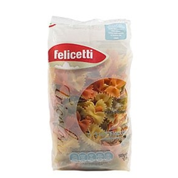 Fiocchi Tricolore, Eiernudeln aus Hartweizengrieß, 500g - Felicetti