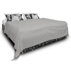 Tagesdecke Luna, One Home, auch als Sofaüberwurf einsetzbar grau 220 cm x 240 cm