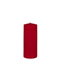 Kerzen Stumpenkerze Kleintray Kerzen Farbe rot 200X80mm 1 Stück