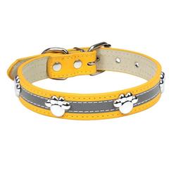 esyBe Hunde-Halsband Hundehalsband, Hunde Halsband für Kleine Hunde, Verstellbare und Reflektierend, DOG02-112, Briet 2.0CM, Halsumfang30~38cm