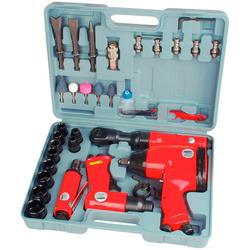 Brüder Mannesmann Werkzeuge Werkzeugset, (33-St), Druckluft-Set