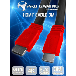 Subsonic HDMI-Flach-Kabel 4K HDMI-Kabel, (300 cm) 300 cm