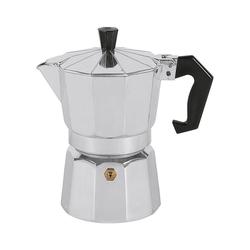 Karl Krüger Espressokocher Aluminium Espressokocher 3 Tassen