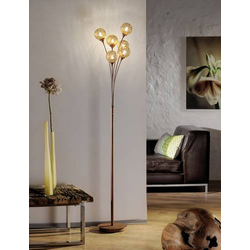 Paul Neuhaus GRETA 398-48 Stehlampe Halogen, LED 240W Braun, Gold