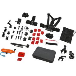 ROLLEI 21643 Sport XL, Actioncam Zubehör Set, passend für Rollei und GoPro Actioncams