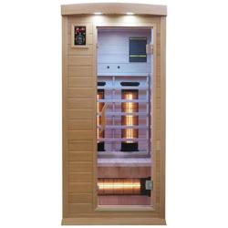 Dewello Infrarotkabine Pierson Dual-Therm, BxTxH: 90 x 90 x 190 cm, 50 mm, für 1 Person