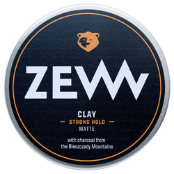 ZEW Charcoal Hair Clay