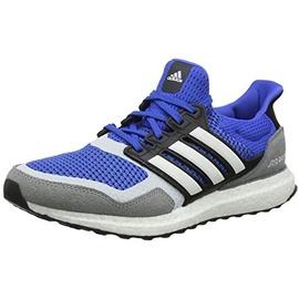adidas Herren Ultraboost S&L Laufschuhe, Blau (Blue/FTWR White/Grey Three F17 Blue/FTWR White/Grey Three F17), 40 2/3 EU