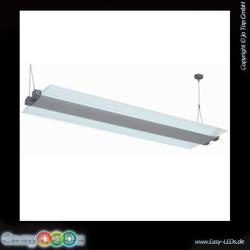 LED Panel Design-Pendelleuchte 40 Watt weiß