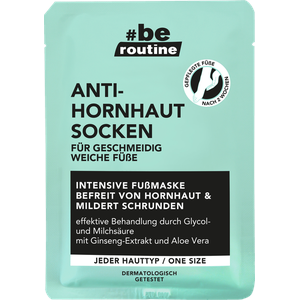 #b.e. ROUTINE Anti-Hornhaut Socken