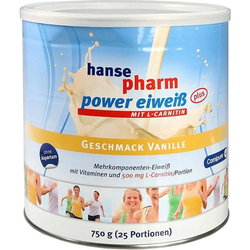 hansepharm Power Eiweiß plus Vanille