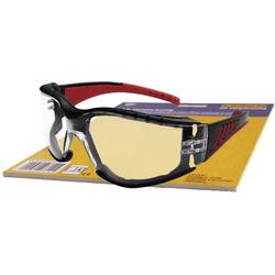 Upixx L+D Red Vision 26793SB Schutzbrille Schwarz, Rot DIN EN 166-1