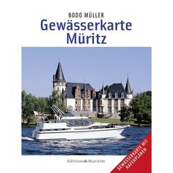 Gewässerkarte Müritz als Buch von Bodo Müller