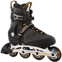 K2 FREEDOM Inline Skate 2021 grey/yellow grau 40,5