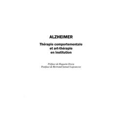 Alzheimer: therapie comportementale et a