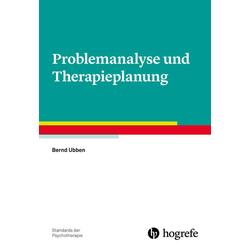 Problemanalyse und Therapieplanung: Buch von Bernd Ubben