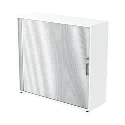 Otto Office Premium Rollladenschrank OTTO Office Line IV mit abschließbarem Querrollladen weiß 120 cm x 110 cm x 40 cm