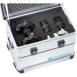 Würfelschaum Maße: ca. 550 x 350 x 310 mm vorgestanzt. aus PU-Schaum. passend für Kiste Nr. 41811 un