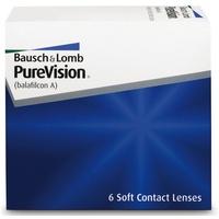 Bausch + Lomb PureVision Spheric 6 St. / 8.60 BC / 14.00 DIA / -1.00 DPT