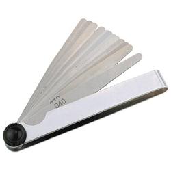 Fühlerlehre Blatt-St.0,05-0,5mm STA L.100mm Bl.8 St.PROMAT