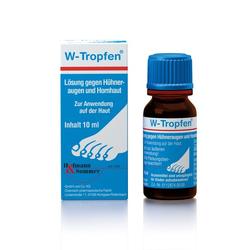 W-TROPFEN Lösung gegen Hühneraugen+Hornhaut 10 ml
