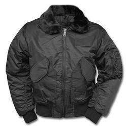 Mil-Tec Swat CWU Jacke schwarz, Größe S