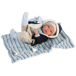 Babypuppe Llorens, Nico, 40cm, Made in Europe