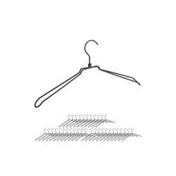 relaxdays Kleiderbügel 36 x Kleiderbügel Metall
