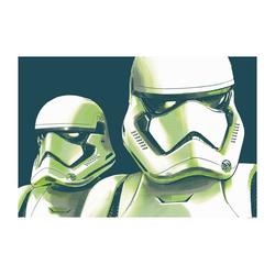 Komar Poster Star Wars Faces Stormtrooper, Star Wars 70 cm x 50 cm