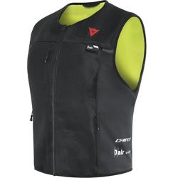 Dainese Smart D-Air® Airbag Weste, schwarz-gelb, Größe M