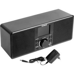 Technaxx TX-153 Internet Tischradio Internet Internetradio, USB, WLAN Schwarz
