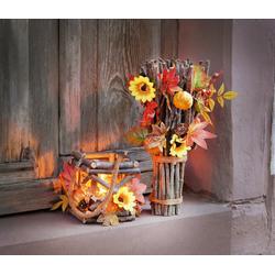 HomeLiving Windlicht Herbstzeit