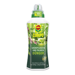 COMPO Grünpflanzen- und Palmendünger 1 l