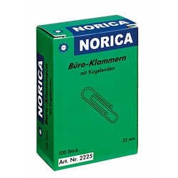 100 ALCO Büroklammern NORICA