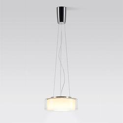 Curling LED Leuchte - Schirm: Größe M / Glas klar
