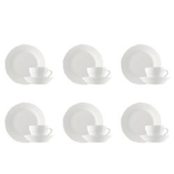 Hutschenreuther Geschirr-Set Kaffeeset 18-tlg. - MARIA THERESIA Weiß