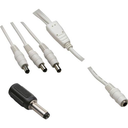 BKL Electronic 072939 Niedervolt-Adapterkabel Niedervolt-Buchse - Niedervolt-Stecker 5.5mm 2.5mm 5.5