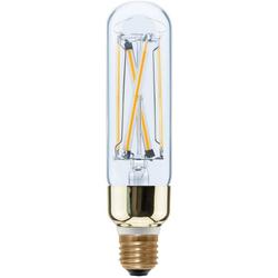 SEGULA LED High Brightness Tube, klar LED-Filament, E27, Warmweiß, High Brightness