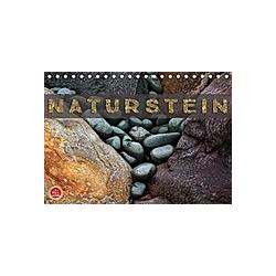 Naturstein (Tischkalender 2021 DIN A5 quer)