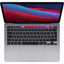 "Apple MacBook Pro 13"" mit Apple M1 Chip Notebook (33,78 cm/13,3 Zoll, Apple, 256 GB SSD) grau"