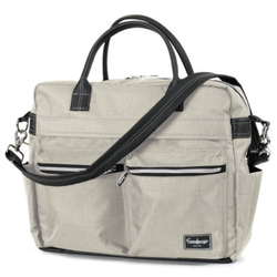 Emmaljunga Wickeltasche Travel Lounge Beige