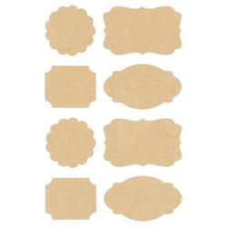 Rico-Design Verlag Sticker Etiketten, 32 Stück