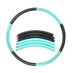 kueatily Hula-Hoop-Reifen Hula-Hoop-Reifen Erwachsene Hoola Hoop Reifen Fitness Gewichtsverlust Gewichtsverlust Reifen Hula Hoop grün