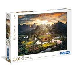 Clementoni® Puzzle High Quality Collection - Tal in China, 2000 Puzzleteile, Made in Europe