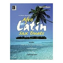 Afro-Latin Saxophone Duets  für 2 Saxophone (AA/AT). Florian Bramböck  - Buch
