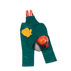 Schnittschutz Sicherheits Starter Set: Hose Gr.50, Helm, Handschuhe