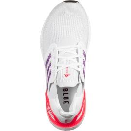 adidas Ultraboost 20 W footwear white/glow purple/echo pink 38 2/3